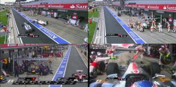 2011 イギリスGP ピットミス
