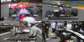 2011 ベルギーGP ワンシーン
