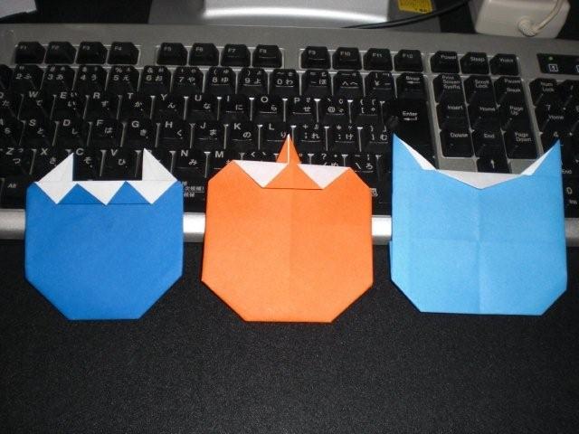 ハート 折り紙 折り紙 おに : divulgando.net