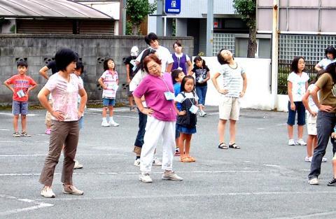 上野町会ラジオ体操