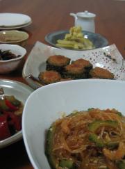鹿児島野菜でのお料理たち