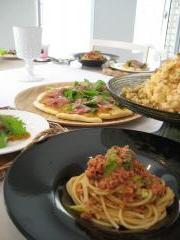 2008年9月 お料理教室料理