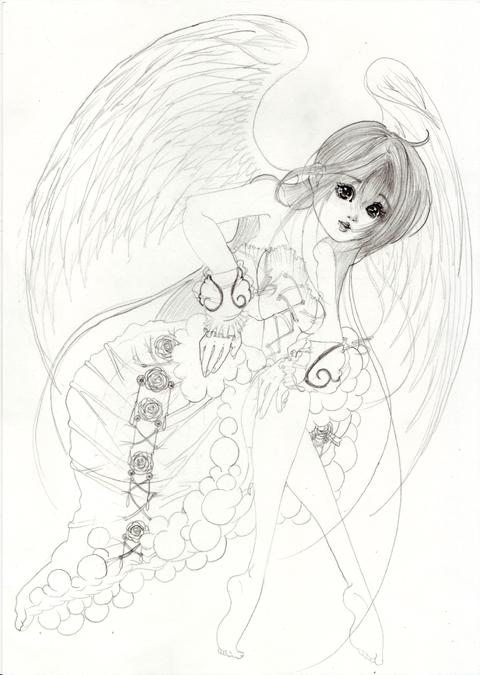 振り向く天使(//^-^//)