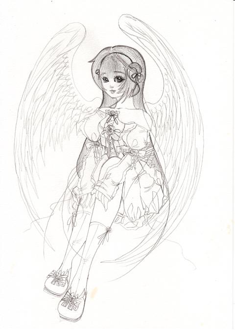 ちょこんと天使
