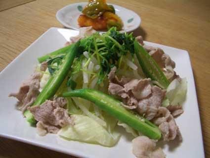 冷しゃぶ風温野菜サラダ