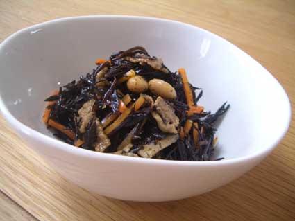 ひじきと大豆の煮物
