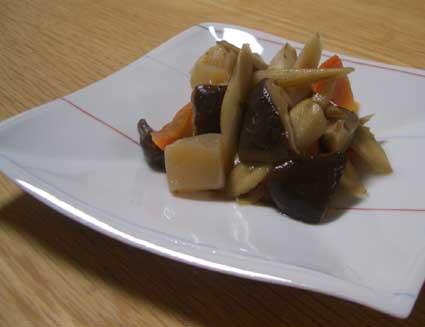 ごぼうの煮物