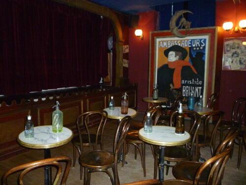 café théâtre de Paris