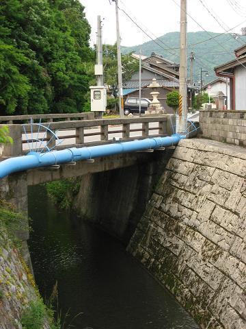 柏原宿・丸山橋付近