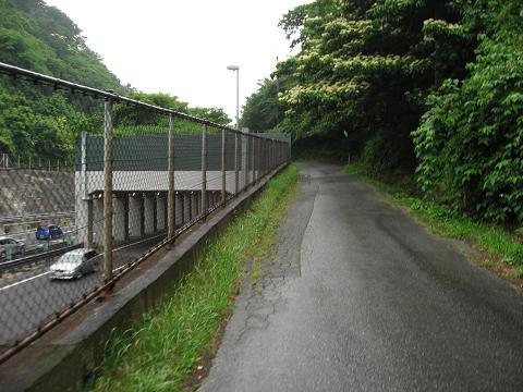 小摺針峠越えの旧道