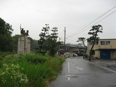 鳥居本宿の松並木