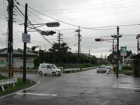 旧中山道・正法寺町交差点