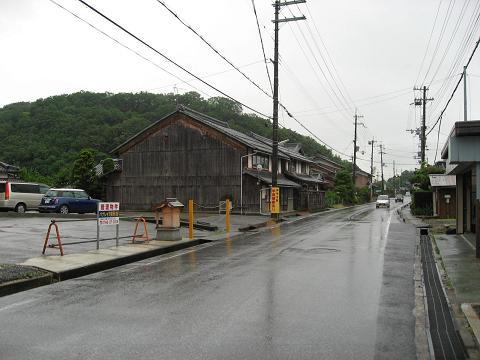 旧中山道・大堀山付近