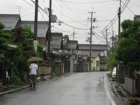 旧中山道・出町