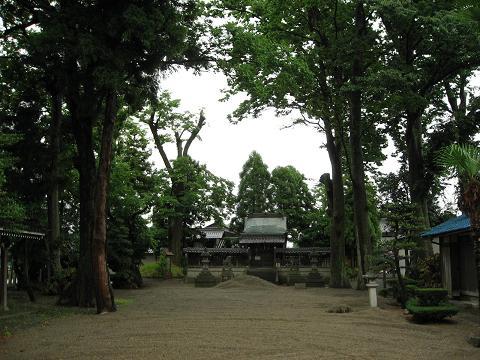 石畑の八幡神社
