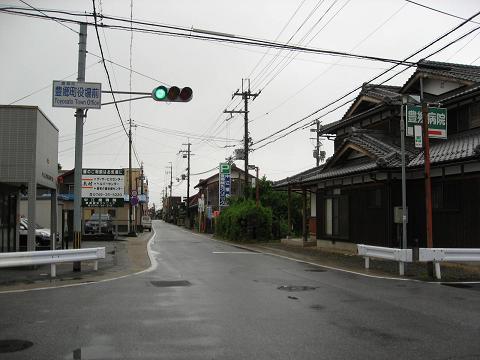 旧中山道・豊郷町役場前交差点