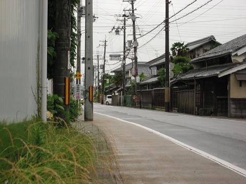 旧中山道・天稚彦神社付近