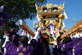 魚吹八幡神社秋祭り'07