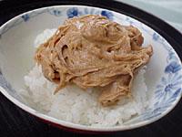 納豆かに味噌