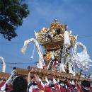 魚吹八幡神社の秋祭り