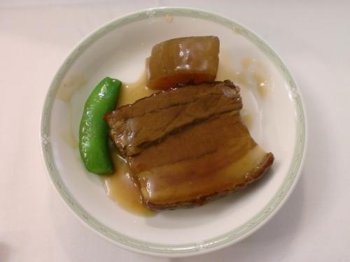 冬大根と豚バラ肉の煮込み(東天閣)111209_convert_20111209194221