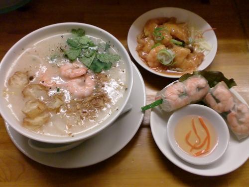 ベトナム粥セット・海老(コム ベトナム)120224_convert_20120224204313