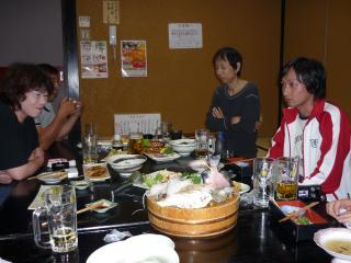 小泉真也さんとお食事会