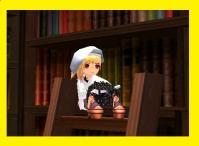 シアさん読書にふけるw