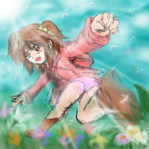 野原とアレサ