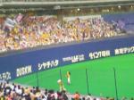 阪神ファンとトラッキーとラッキー