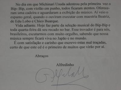 Alfredinho texto