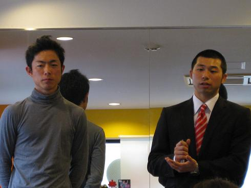 リョウさんと藤田さん