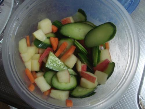野菜てんこ盛り
