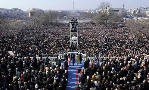 オバマ観衆