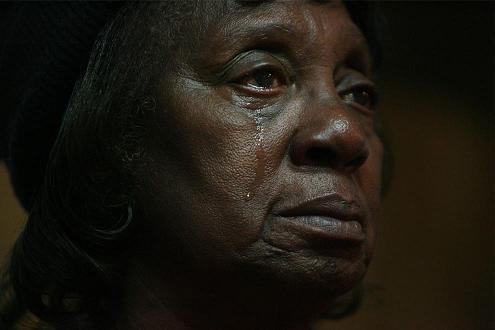 オバマ黒人涙