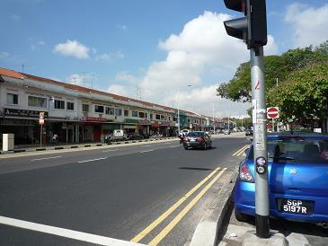 シンガポール道