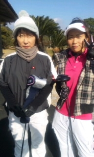 親子ゴルフ