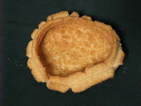 亀の甲せんべい 裏 玉木製菓