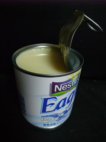 ワシミルク 開缶