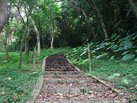 末吉公園 階段