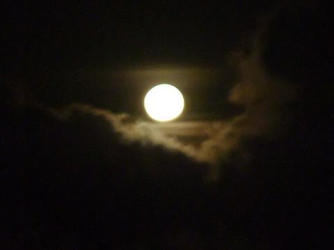 コリンザ屋上からの月夜景