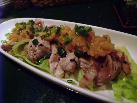 ツクヨミノネコ 豚薄切り肉ポン酢
