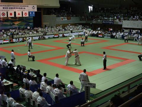 柔道競技 男子団体 8月8日 (日)