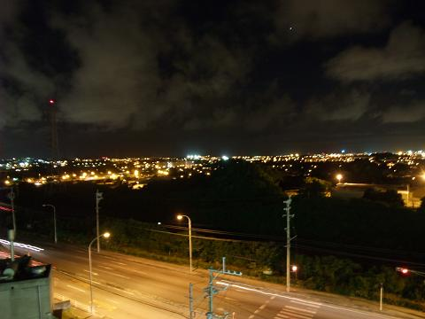 コリンザ屋上から見た嘉手納基地 1