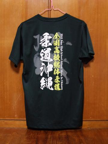 美ら島 沖縄総体 2010 Tシャツ 柔道