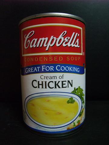 キャンベル Cream of CHICKEN