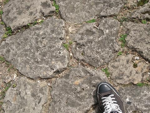 金城町の石畳 石畳