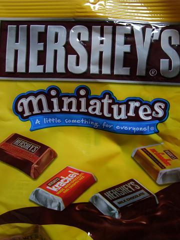 HERSHEYS miniatures パッケージ