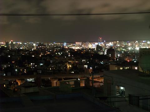 MOA沖縄会館 沖縄青少年研修センターからの夜景