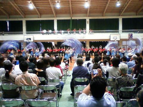 真志喜中学校吹奏楽部 2010香港マーチン具バンドフェスティバル出場 資金造成コンサート 3